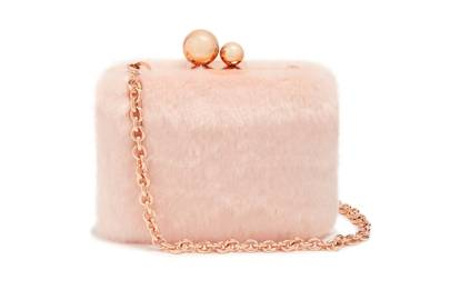 Sophia Webster faux-fur bag