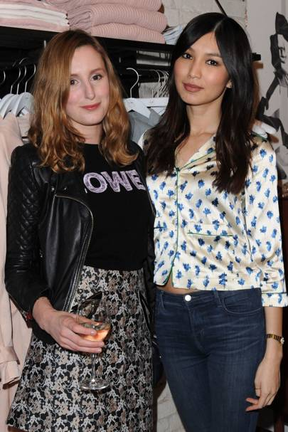 Laura Carmichael and Gemma Chan