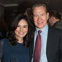 Eleonore Dresch and Michael Portillo