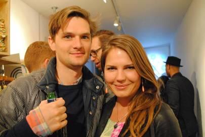 Rupert Newman and Anna Holder