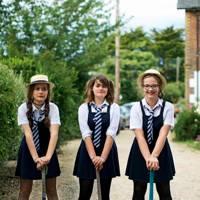 Arabella Wilson, Alexandra Armitage and Lottie Pink