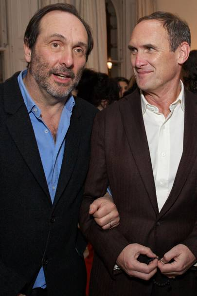 David Macmillan and AA Gill