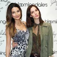 Lily Aldridge and Ruby Aldridge