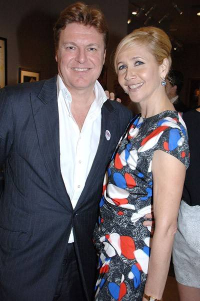 Rod Barker and Tania Bryer