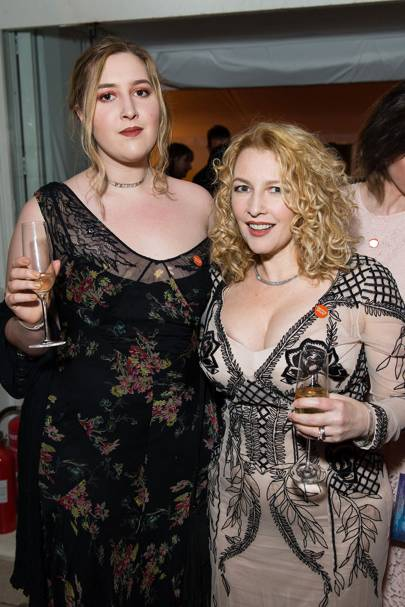 Jane Goldman and Honey Kinney Ross