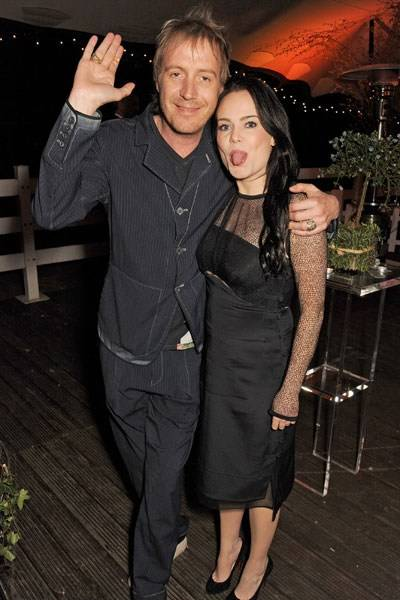 Rhys Ifans and Duffy