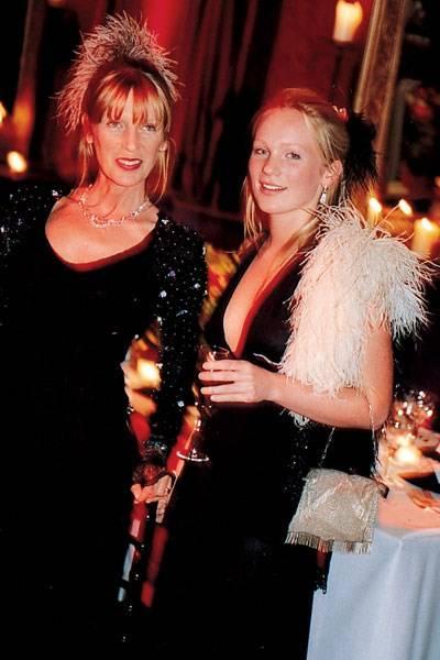 Mrs Lindsay von Simson and Issy von Simson