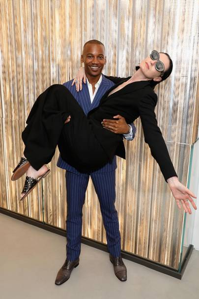 Eric Underwood and Erin O'Connor