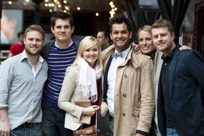 Gareth Evans, Jon Pipe, Sara Mault, Chris Darwent-Peel, Nicola Darwent-Peel and Stephen Mault