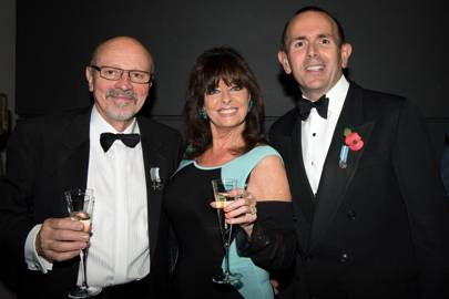 Martin Withers, Vicki Michelle and Will Packard