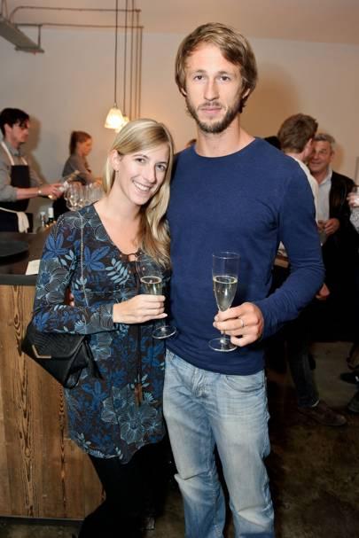 Lynsey Banks and Ben Templeton