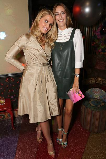 Lady Kitty Spencer and Lady Alice Manners