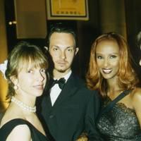 Sabrina Guinness, Joshua Wood and Mrs David Bowie