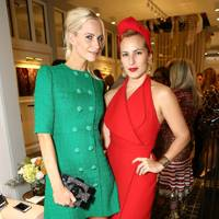 Poppy Delevingne and Charlotte Dellal