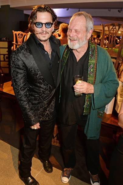 Johnny Depp and Terry Gilliam