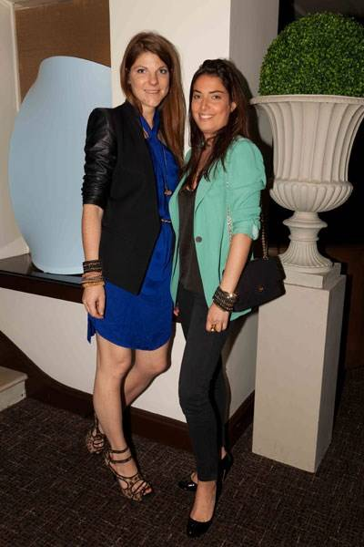 Rebecca Manners and Constance Rouget-Luchaire