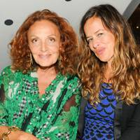Diane von Furstenberg and Jade Jagger