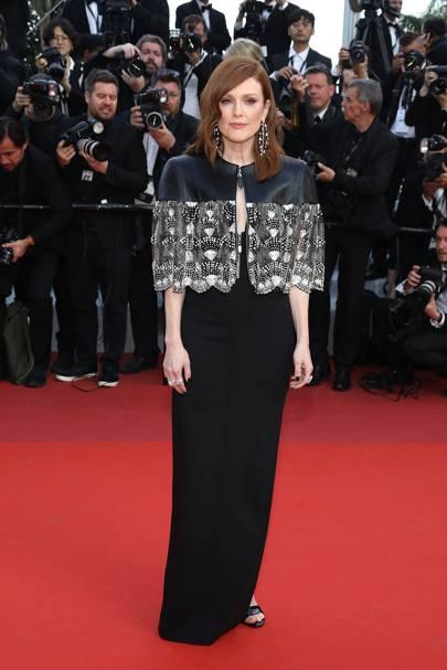 Julianne Moore wearing Louis Vuitton, 2019
