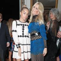 Jasmine Sanders and Claudia Schiffer