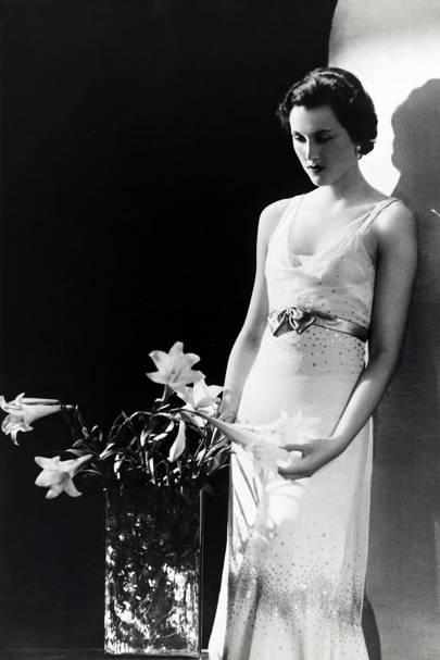 Lady Bridget Poulett. Photograph by Paul Tanqueray, 1932.