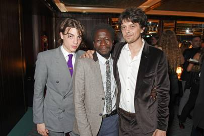 Sascha Bailey, Andrew Okello and Fenton Bailey