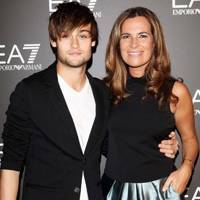 Douglas Booth and Roberta Armani