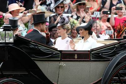 The Duke of Sussex, the Countess of Wessex and the Duchess of Sussex