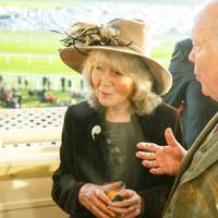 Jilly Cooper and Lord Julian Fellowes