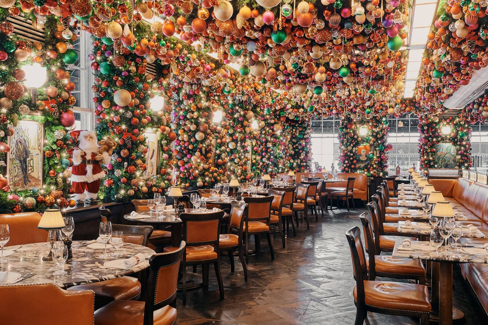 Christmas Restaurants London 2021 Best London Christmas Menus Tatler