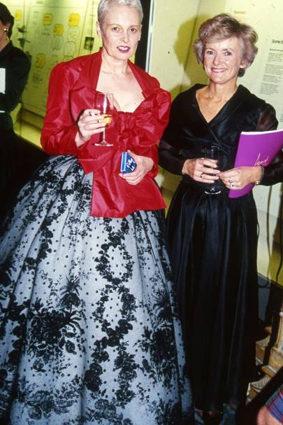 Vivienne Westwood and Mrs Neil Kinnock