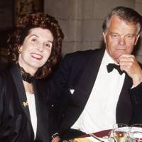 The Hon Alan Clark and Lady Rawlinson of Ewell