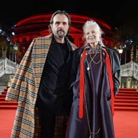 Andreas Kronthaler and Dame Vivienne Westwood