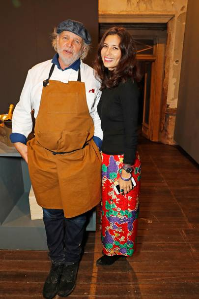 Francis Mallmann and Jasmine Hemsley