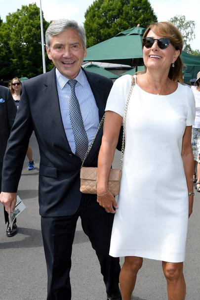 Michael Middleton and Carole Middleton
