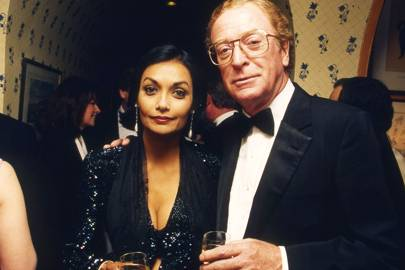 Mrs Michael Caine and Michael Caine