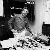 1971 - Ralph Lauren in his office