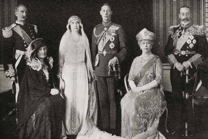 Prince Albert of York's marriage to Lady Elizabeth Bowes-Lyon, 1923
