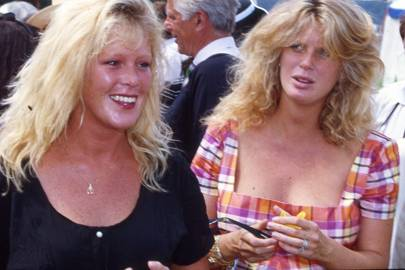 Jackie Hunter and Mrs Rod Stewart