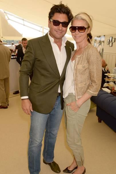 Giorgio Veroni and Tamara Beckwith