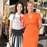 Caroline Issa and Annoushka Ducas