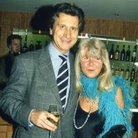 Arnaud Bamberger and Mrs Leo Cooper