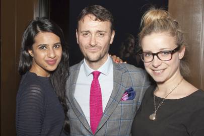 Ravinder Bhogal, Jason Atherton and Rebecca Seal