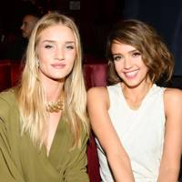 Rosie Huntington-Whiteley and Jessica Alba
