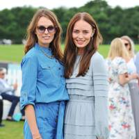 Lady Violet Manners and Laura Haddock