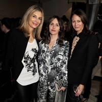Kim Hersov, Tania Fares and Caroline Rush