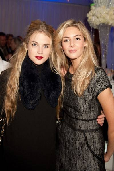 Gabriella Wilde and Tamsin Egerton