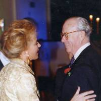 Princess Michael of Kent and Vincent Poklewski-Koziell