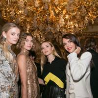 Rebecca Corbin-Murray, Arizona Muse, Pernille Teisbaek and Evangelie Smyrniotaki