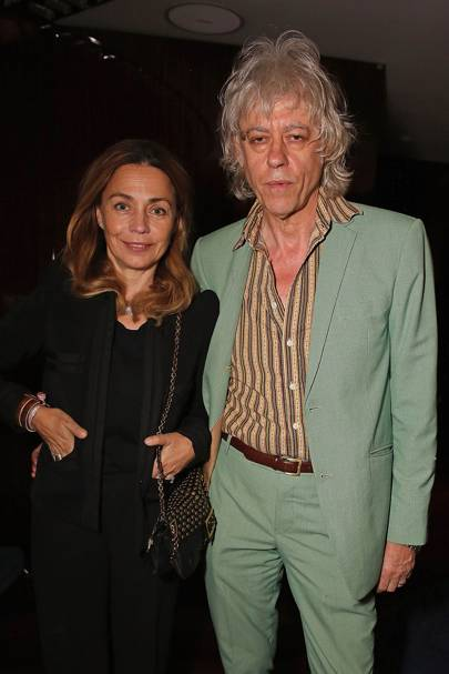 Jeanne Geldof and Bob Geldof