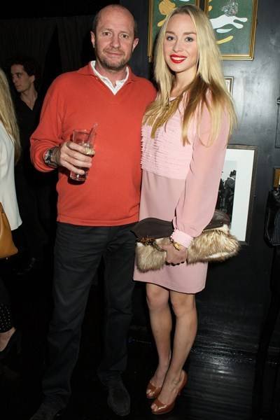 Scot Young and Noelle Reno
